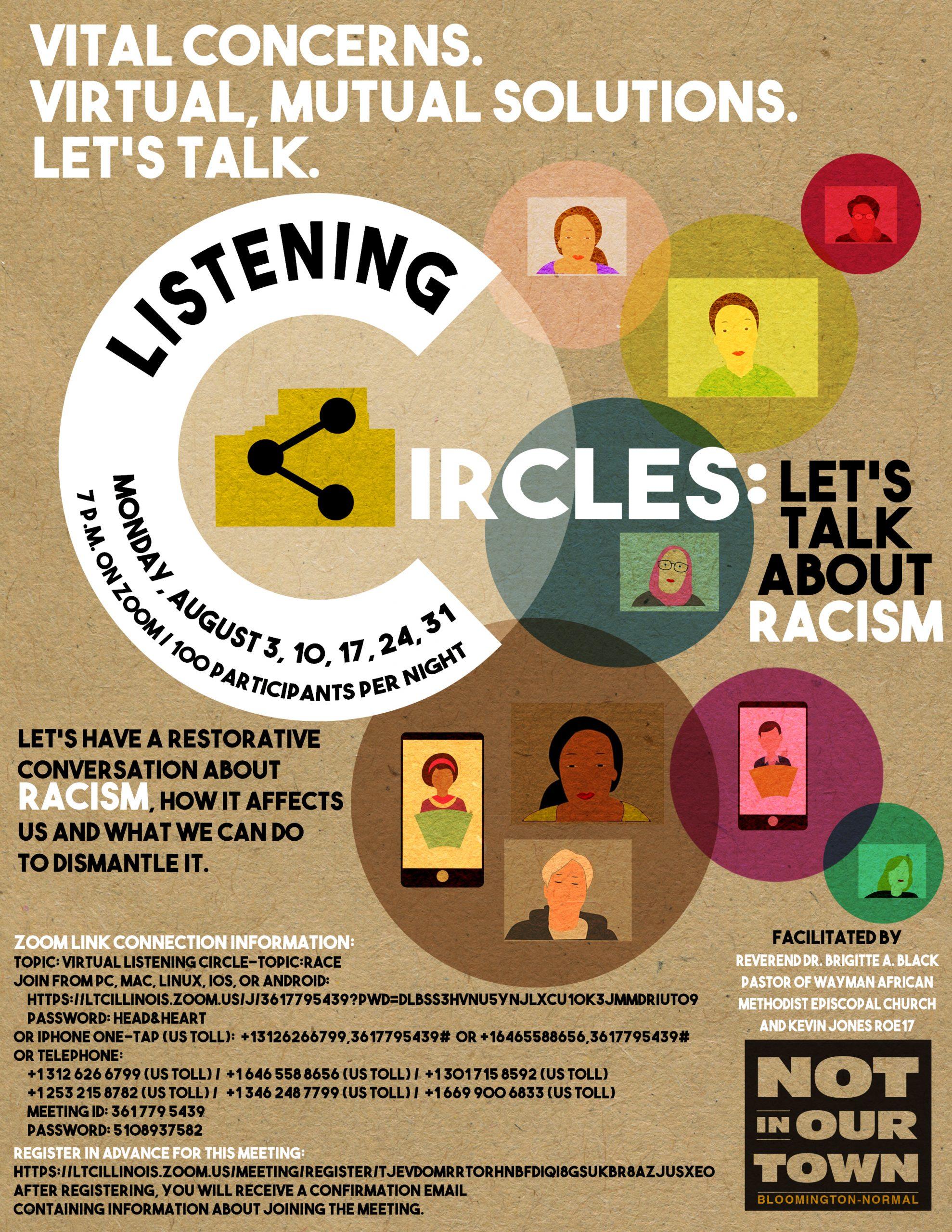 Circles Flyer 02 Aug 2020